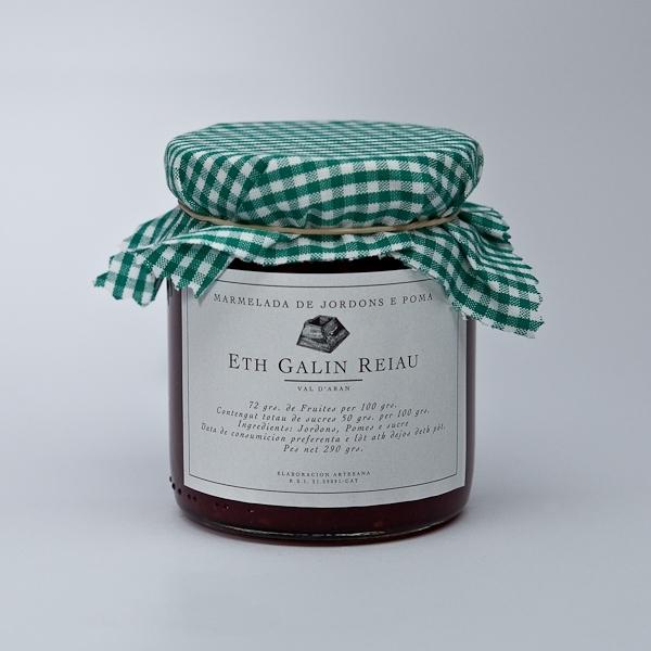 Mermelada de frambuesa (Marmelada de Jordons)