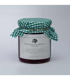 Mermelada de frambuesa y manzana (Marmelada de Jordons e Poma)