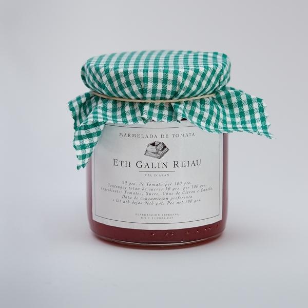 Mermelada de tomate (Marmelada de Tomata)